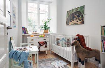 Дизайн детской комнаты площадью 7 кв.м.