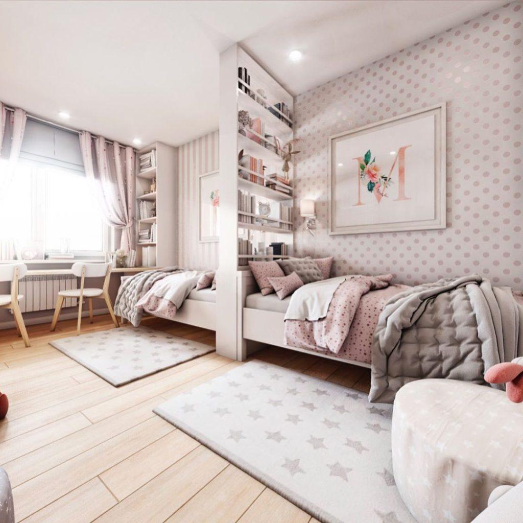 Комната для двух девочек 15 кв.