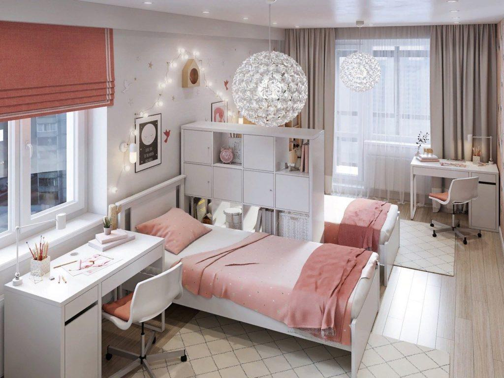 Комната для двух девочек 20 кв.