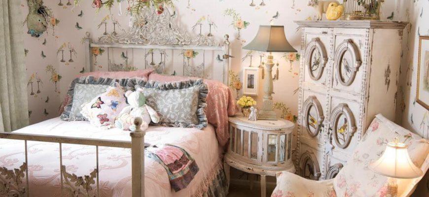 Детская комната для девочки в стиле прованс